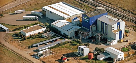 BioMar's factory in Dueñas, Spain